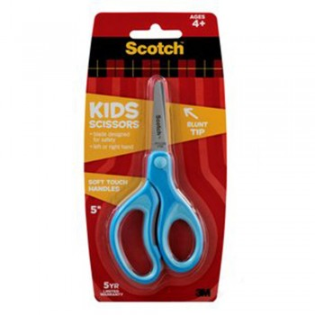 "3M Scotch Kids 5"" Scissors Soft Grip Handles"