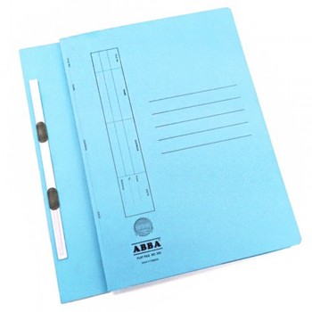 ABBA TRANSFER FILE 102(ST) 2 CLIPS BLUE