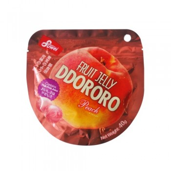 Fruit Jelly Ddororo (Peach) 40g