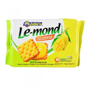 Julie's Le-mond Manggo Flavoured Cream 180g