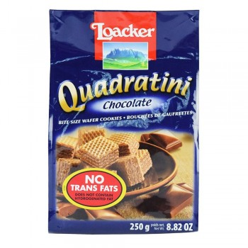 LOACKER Quadratini Chocolate 250g
