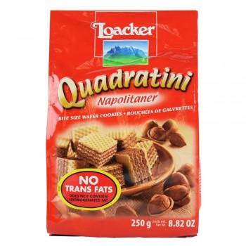LOACKER Quadratini Napolitaner 250g