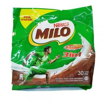 Milo 3 in 1 Original 33g x 30 Stick Packs (Item No: E03-06) A2R1B11