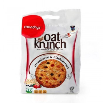 Munchy's Oat Krunch Strawberry and Blackcurrant (Item No: E04-22) A2R1B34