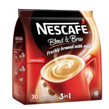 Nescafe 3in1 Blend & Brew Original (Item No: E01-21) A2R1B13