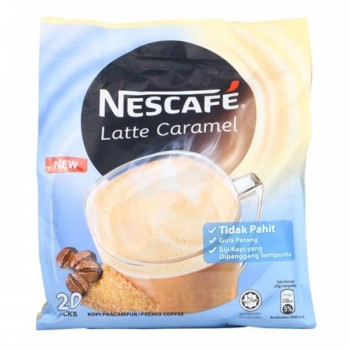 Nescafe 3in1 Latte Caramel  (Item No: E01-04LATTE) A2R1B3