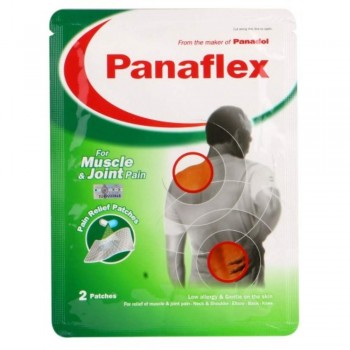 Panaflex Pain Relief Patches - Muscle/Joint pain (Item No: E07-28) A3B142