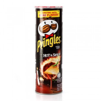 Pringles Potato Hot & Spicy 110g