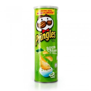 Pringles Potato Sour Cream & Onion 110g