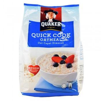 Quaker -Quick Cook Oatmeal -800g Blue ( ITEM NO : E03-23 )