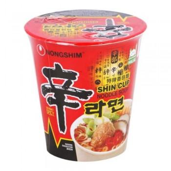 Shin Ramyun Cup Noodle - Spicy Mushroom (Item No: E06-27) A2R1B81