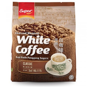 Super Charcoal Roasted 3 in 1 White Coffee Classic ( Item no: E01-33 )