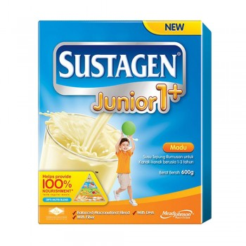 Sustagen Junior 1 Plus Honey Milk Powder 600g