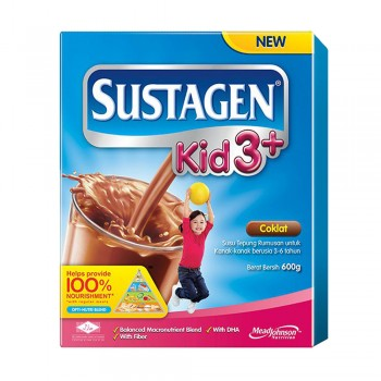 Sustagen Kid 3 Plus Chocolate Milk Powder 600g