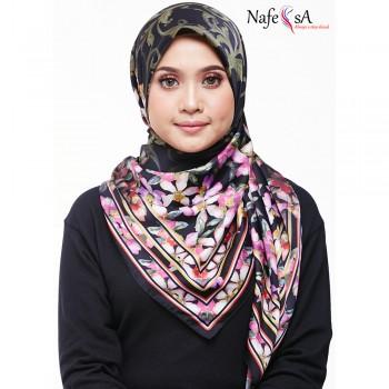 Nafeesa Azalea Violet Purple Shawl