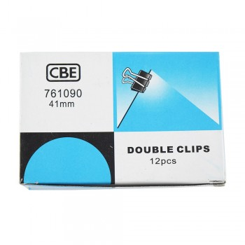 CBE 761090 41MM Double Clip 12pcs/box