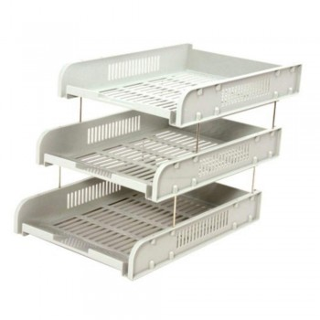 CBE 8012-3 ABS DOCUMENTARY TRAY-GREY ( ITEM NO : B10 30 GY )