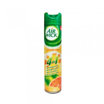 Air Wick Freshener Aerosol 4 In 1 Citrus Fields 300m