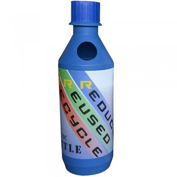 BONANZA (HDPE) Bottle - Size : 440mm(Dia) x 1410mm(H)--per set w/o sticker / PE liner