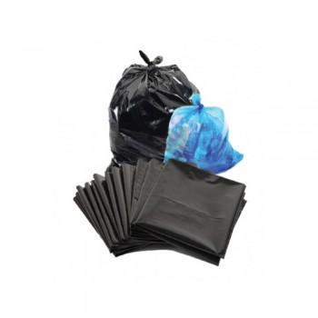 Tradition Square Garbage Bag 150 lts Black