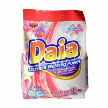Daia Floral Freshness Excellent Washing Power - 2.5kg (Item No: F05-10 FLORAL) A3R1B85