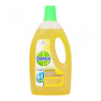 Dettol 4in1 Multi Action Cleaner 1.5L - Fresh Lemon Fragrance (F03-02 LEMON) A3R1B25