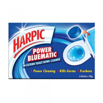 Harpic Bluematic 50g x 6