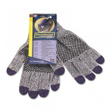 JACKSON SAFETY* G60 Purple Nitrile Cut Resistant Level 3 Gloves - L, 12 pairs