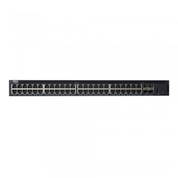 Dell 210-AEIO Networking X1052 Smart Web Managed Switch, 48x 1GbE and 4x 10GbE SFP+ Ports