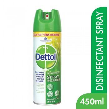 Dettol Antibacterial Germicidal Hygiene Liquid Disinfectant Spray Morning Dew 450ml