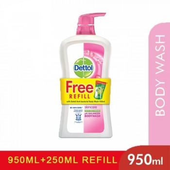 Detto Shower Gel 950ml+250ml SkinCare