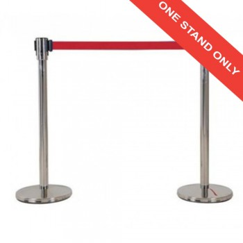 Retractable Q-UP Stand QP33R - (Red) (Item No: G05-74R)