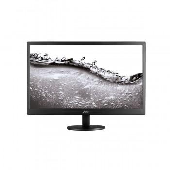 "AOC e970swn 18.5"" LED Monitor Black - 1366 x 768 Resolution, 5ms, 20M:1"