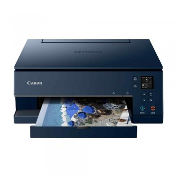 Canon Pixma TS6370 Wireless All-In-One Inkjet Printer and Auto Duplex Printing - Navy