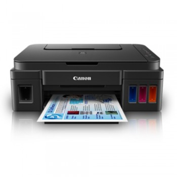 Canon Pixma G3000 - A4 AIO/Wifi Direct/ Color Ink Efficient Inkjet Printer