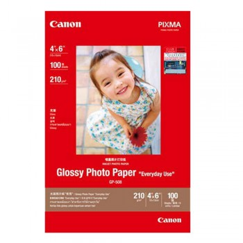 Canon GP-508 Glossy Photo Paper 4X6 (100 shts)