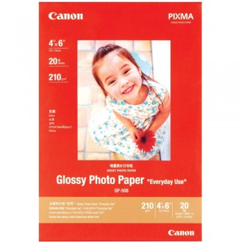 Canon GP-508 Glossy Photo Paper 4X6 (20 shts)