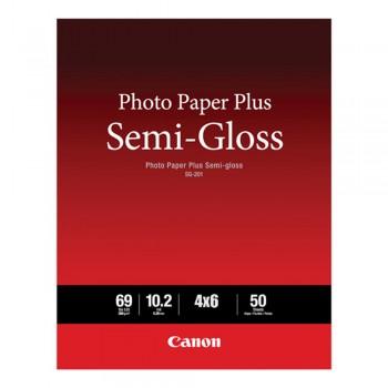 CANON SG-201 4X6 Photo Paper Plus Semi-Gloss 50 shets
