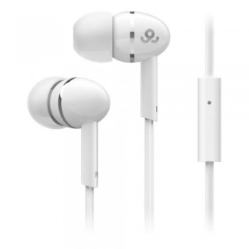 GO GEAR In-Ear Headphones Sparklers - White