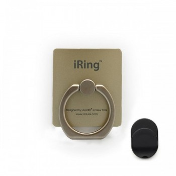 iRING Premium Masstige Grip and Kickstand - Gold