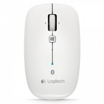 Logitech Bluetooth M557 Mouse - Pearl White