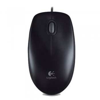 Logitech B100 Optical USB Mouse Black