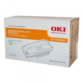 OKI B2500/2520 BLACK TONER 4K 43796201 ( ITEM NO : OKI B2500 [4K] )