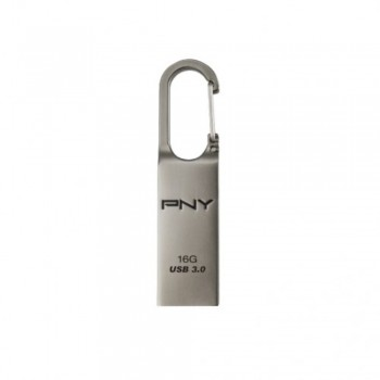 PNY Loop Turbo Innovative Carabiner Hook USB 3.0 Flash Drive - 16GB