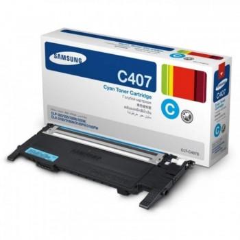 Samsung CLT-407 Cyan Toner Cartridge (SG CLT-C407S/SE)