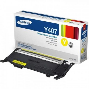 Samsung CLT-407 Yellow Toner Cartridge (SG CLT-Y407S/SE)