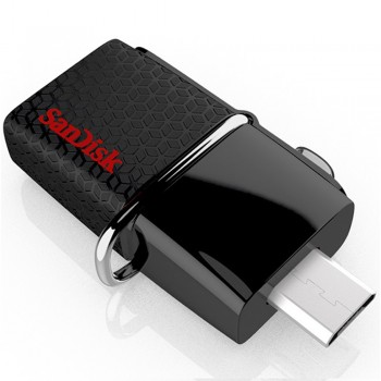 SanDisk Ultra Dual Drive USB3.0 130mb/s - 32GB (Item No : SDDD2-032G-G46)