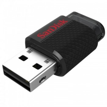 SanDisk Ultra Dual USB Flash Drive - 16GB (Item No: SDDD-016G-G46) A4R2B113