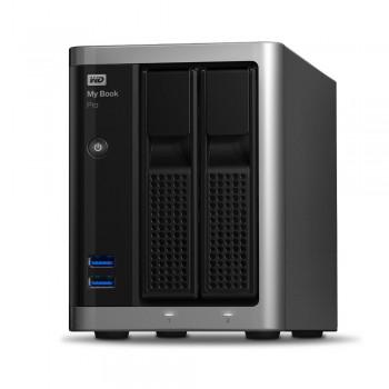 WD My Book Pro USB3.0 Thunderbolt 2 Professional Raid Storage 12TB (2X6TB) (Item No:WDBDTB0120JSL)