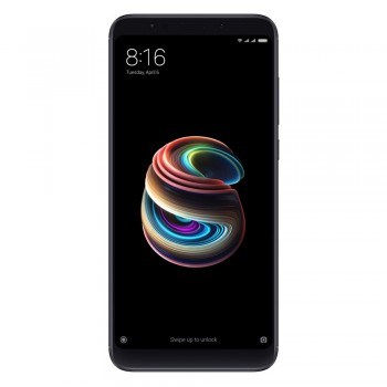 "Xiaomi Redmi 5 Plus 5.99"" FHD SmartPhone - 32gb, 3gb, 12mp, 4000mAh, Black"